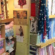 Fabrics galore, for every kind of project, from Victoria Fabrics in southern Gloucestershire.