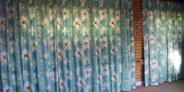 Curtain materials, tapes, lining, and bespoke curtain-making services