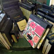 Victoria Fabrics offers a wide variety of sample books.