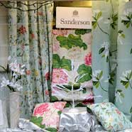 Sanderson display window autumn 2012.