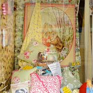 Beatrix Potter and Diamond Jubilee joint window display.