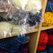 King Cole Luxe Fur and Magnum Chunky, amongst many other knitting wools from Victoria Fabrics.