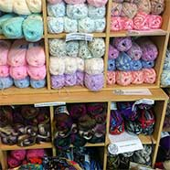 We offer a large range of various different wools, for every kind of project at Victoria Fabrics, a source for all your knitting needs.
