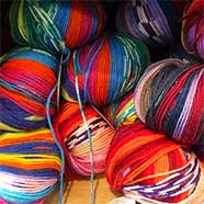 Adriafil Knitcol yarns and many others from Victoria Fabrics in Wotton-under-Edge.