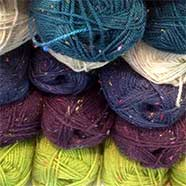 Tweed Chunky DK and a host of other yarns available from Victoria Fabrics.